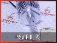 45W Philips chips